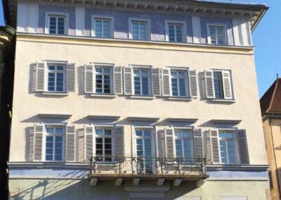 HAGA Fassade Dekanat Esslingen Denkmalschutz