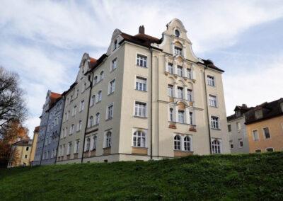 HAGA Fassaden privates Mehrfamilienhaus Regensburg Denkmalschutz