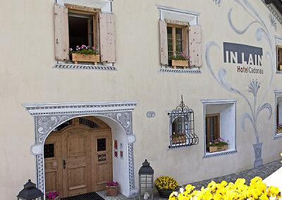HAGA Fassade Hotel IN LAIN Cadonau AG, Marco Cadonau